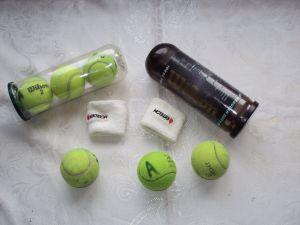 Топки за тенис на корт Wilson 3 броя