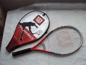 Тенис ракета WilsonTurbo POWVER STRINGS Technology